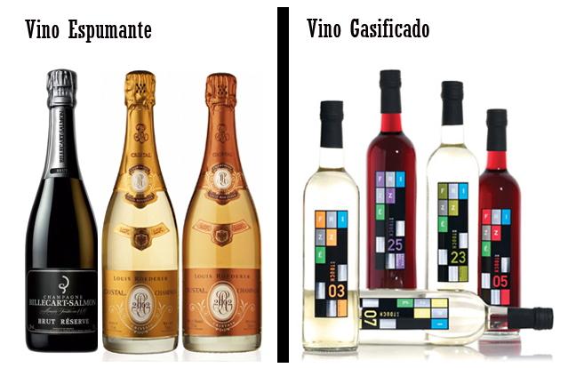 champagne y vino espumante es lo mismo