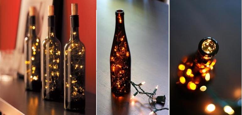 Cómo decorar la mesa navideña con botellas de vino – The Big Wine Theory