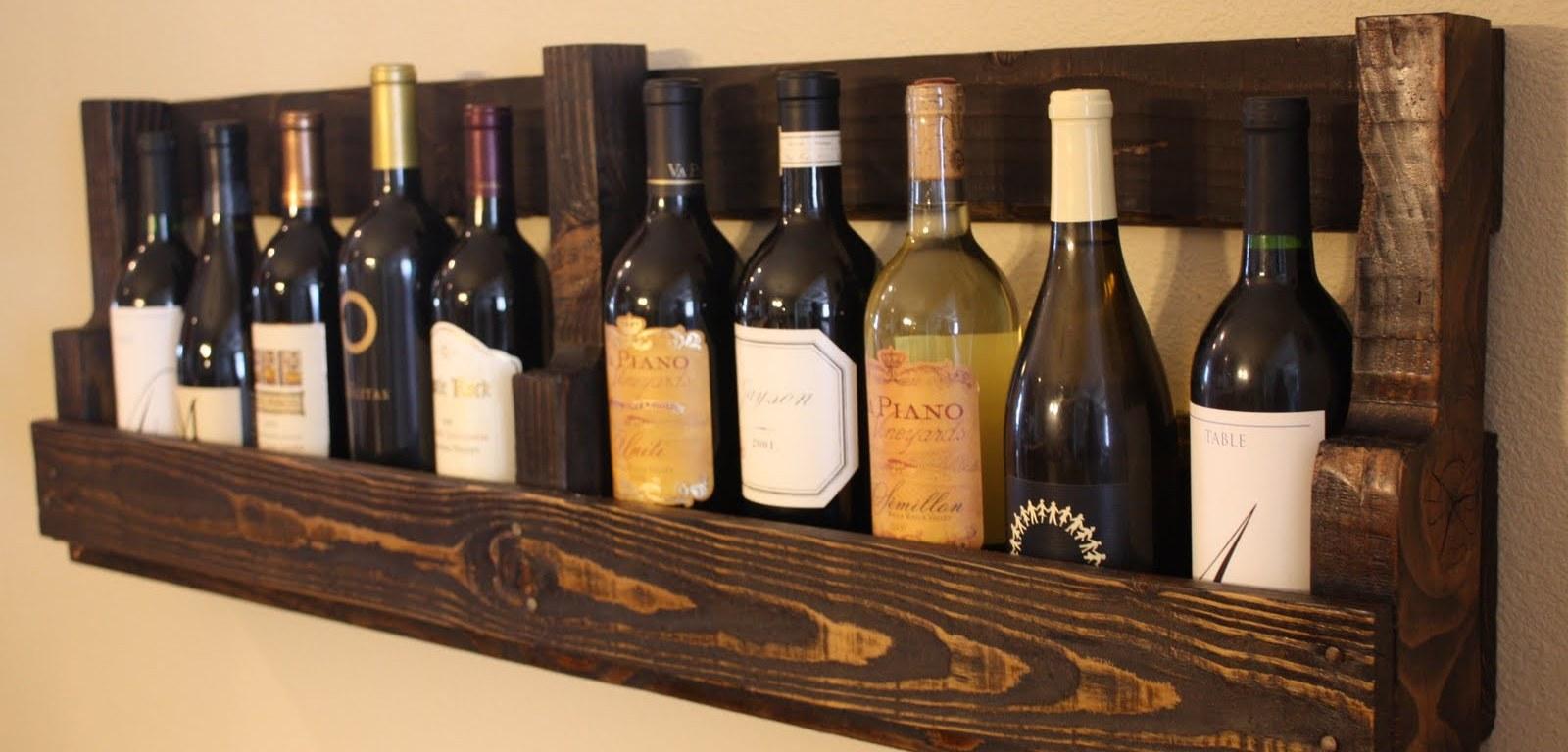 15 ideas creativas de pallets para el vino – The Big Wine Theory