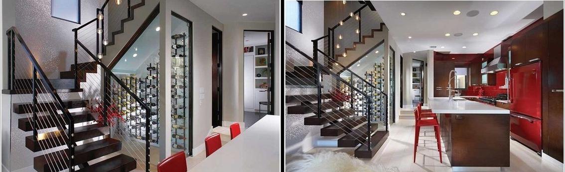 Optimizar espacios las 10 mejores cavas debajo de for Mini bar debajo de escaleras