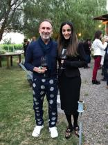 Daniel Genovesi y Natalia Alamo