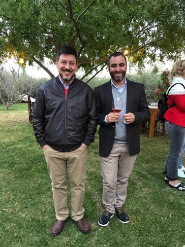 Ignacio Femenia y Cristian Peña